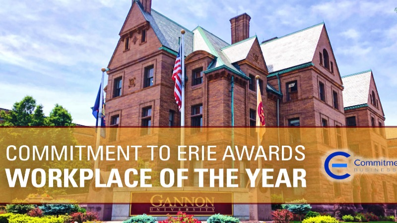 Gannon University has been named Workplace of the Year.