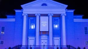 Gannon University's Schuster Theatre.