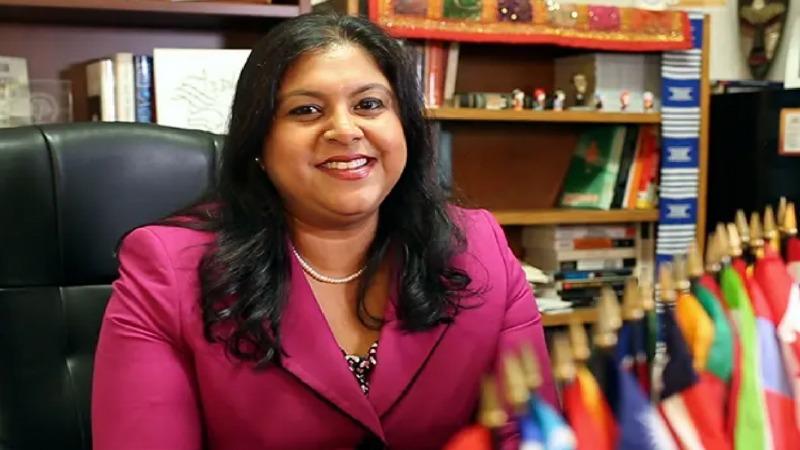 Anjali Sahay, Ph.D., director of the political science program.