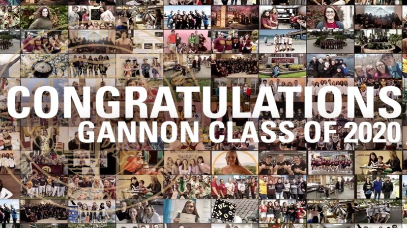 Congratulations to the Gannon Class of 2020.