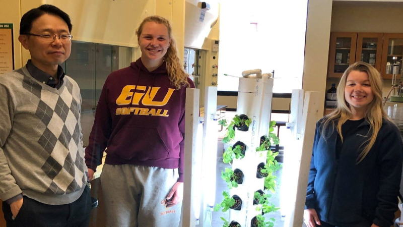 Prototype Aeroponics System - Senior Design/Thesis Course 2019