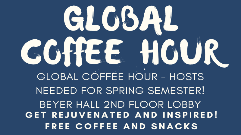 OGSSE's Global Coffee Hour Logo
