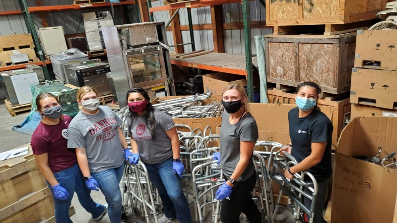 Gannon University students partners with CHOSEN Inc. to deliver on the need for medical equipment across the globe.