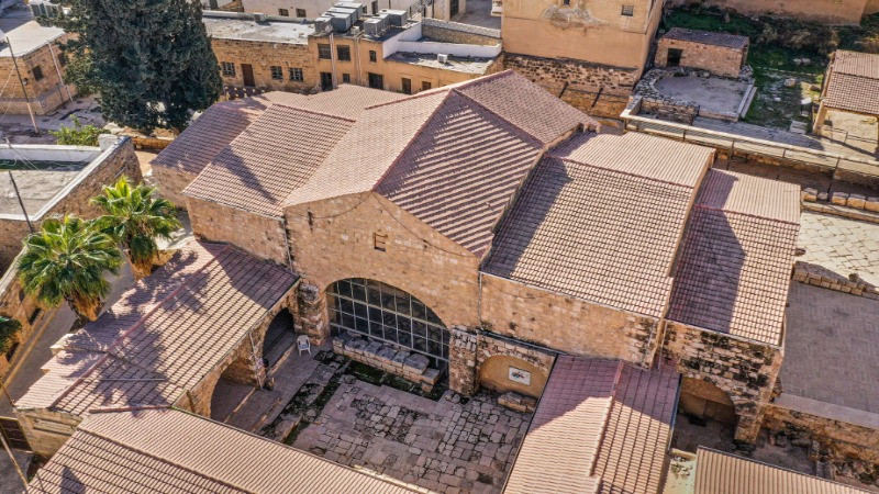An image of Madaba, Jordan from the Madaba Digital Documentation and Tourism Project.
