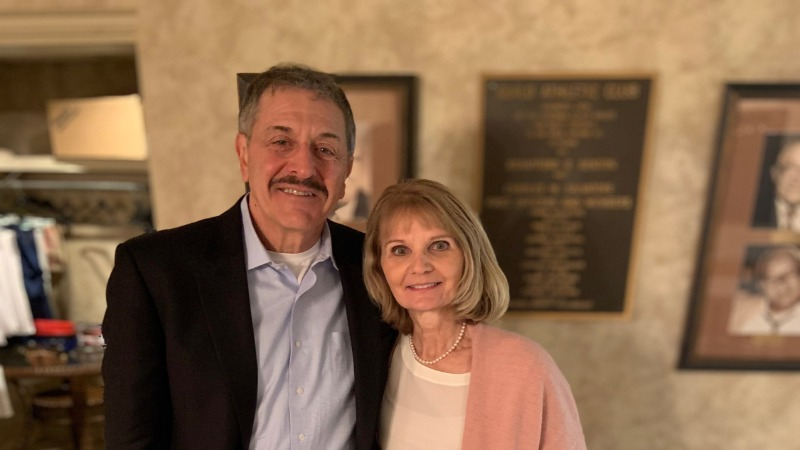 Richard G. Orlando, M.D., F.A.C.S., '76, and his wife, Cynthia
