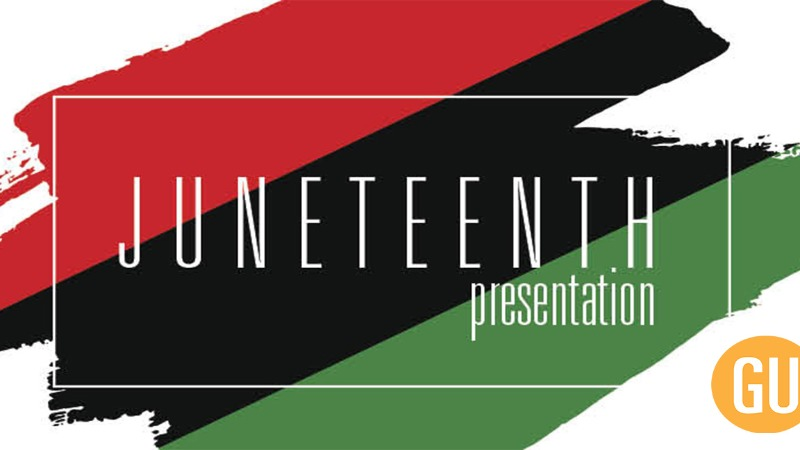 View Gannon's Juneteenth Observance as it streams on our Facebook page.