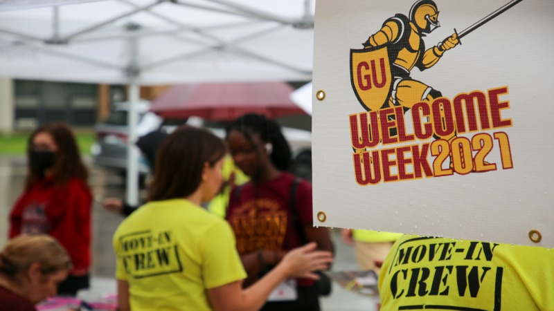Gannon University welcomes the newest freshman class to campus.