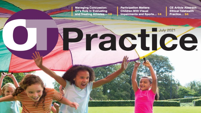 OT Practice, July 2021 Issue Cover