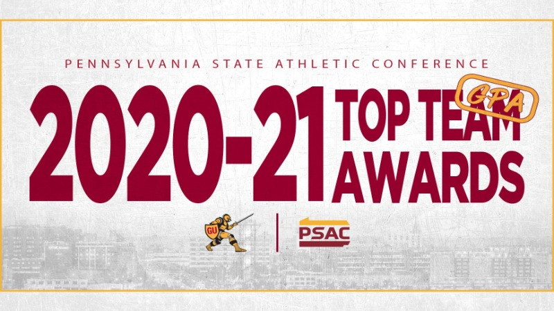 Pennsylvania State Athletic Conference 2020-21 Top Team GPA Awards