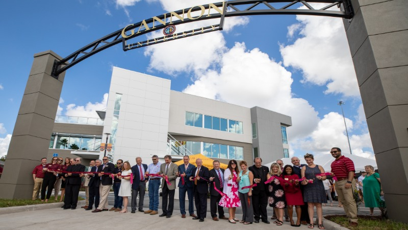 Ribbon Cutting of the Second Academic Building on Ruskin, Florida Campus