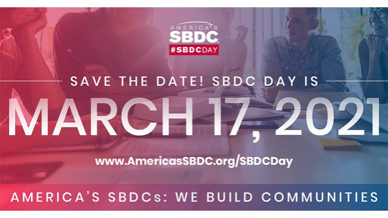 SBDC Day is March 17, 2021