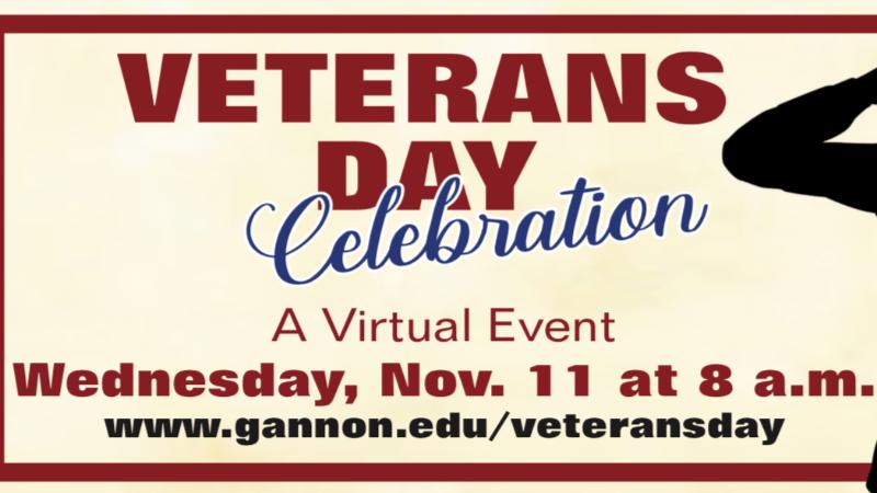 Gannon University is hosting a Veterans Day Celebration