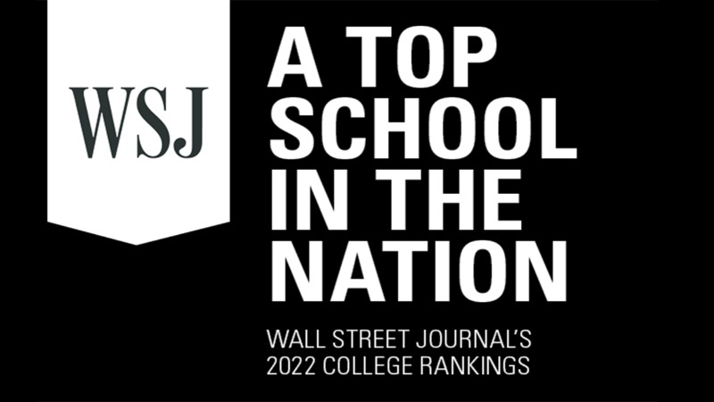 Gannon University ranked a top school in the nation by Wall Street Journal's 2022 College Rankings