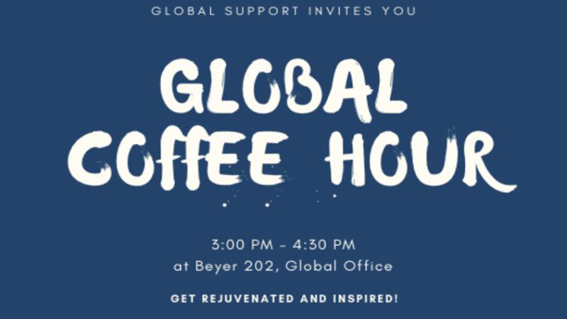 OGSSE's Global Coffee Hour