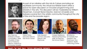 Join us for a Virtual Roundtable to Discuss Inclusivity in the Arts