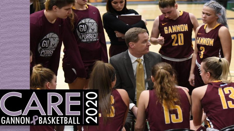Gannon University hosted its inaugural CARE Game women's basketball game