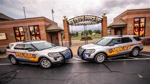 Gannon police vehicles, McConnell Family Stadium