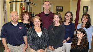Gregory Morris, PT with the staff of AGM Physical Therapy in Mentor, Ohio.