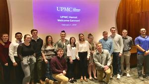 Gannon Healthcare Management Students Visit UPMC Hamot