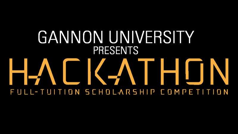 Gannon University's Hackathon Full-Tuition Competition