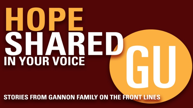We invite all members of the Gannon Family to share their stories of impact while on the frontlines of COVID-19.