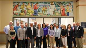 DSB faculty and staff meet with Advisory Board members on May 17th