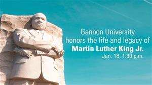 Gannon University to Observe MLK Day with Live-Streamed Event