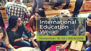 Join #IEW2019 to celebrate the benefits of international education and exchange worldwide.