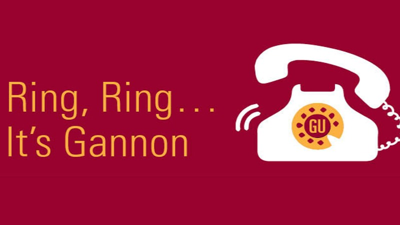 It's Gannon Calling...