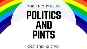 The School of Public Services & Global Affairs Continues Politics and Pints series