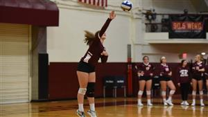 Lauren Sampson became the 18th Gannon player with 1,000 career kills.