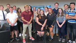 Gannon University Healthcare Management Students tour Saint Vincent Hospital