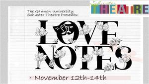 Gannon University's Schuster Theatre will present