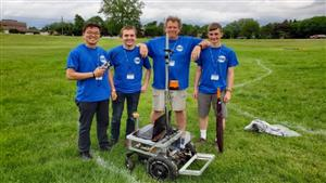 Gannon Students Compete at 28th Annual Intelligent Ground Vehicle Competition